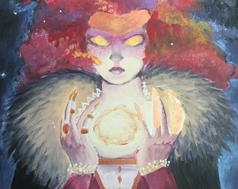Leo the Sun Goddess