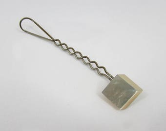 """Vintage Mother of Pearl Hair Decorative Pick 5-1/2"""" - free US shg"""