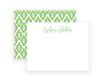 Feminine Stationery Set, Personalized Stationary, Personalized Note Card Set, Personalized Thank You, Monogrammed Stationery, Notecard Set