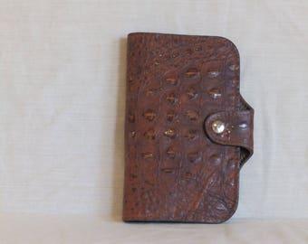 Handmade leather wallet / clutch purse