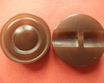 10 buttons Brown 20mm (6477) button