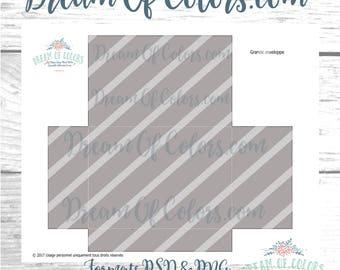 Pattern/Template envelope Bloom GM PSD/PNG files 300 dpi