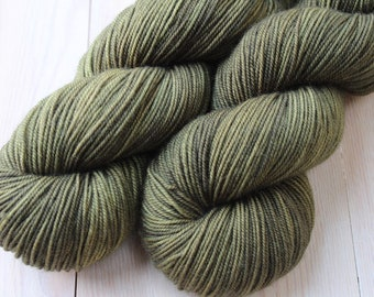 Hand - Sport - Merino superwash and Nylon - 100 g skein dyed / 300 m - soup to the SORREL