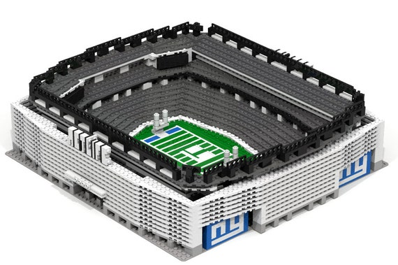 MetLife Stadium-NY Giants Brick model