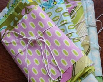 Grab Bag of Scraps. Ten Different Prints from  Heather Bailey's  Bijoux and Pop Garden Collections.