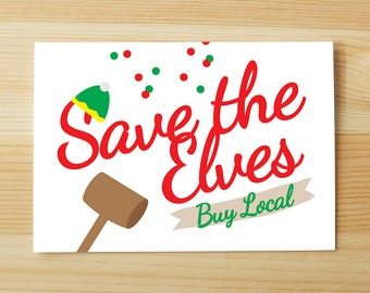 Save Elves, Buy Local