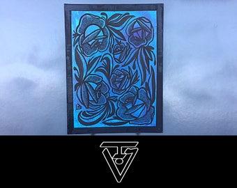 BASIC BOUQUET -  canvas panel (w30xh40cm)
