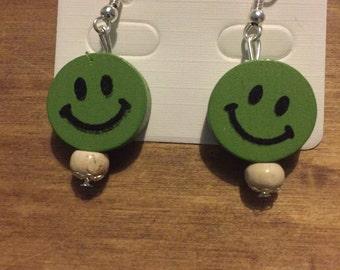 Emoji Smiley earring