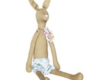 TILDA Rabbit or Fox Pre Sewn Doll.