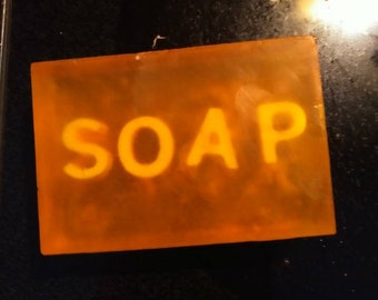 Personalized Glycerin Soap