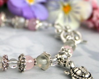 Fertility Jewelry - Victorian Fertility Bracelet - with Fertility Blessing