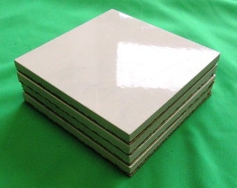 Ceramic Tile Coasters - Set of 4