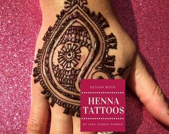 6 Couleur Instantanee Des Cones De Henne Henne Naturel Tatouages