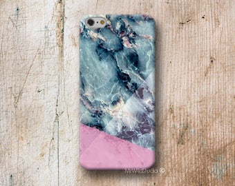 blue pink Marble Phone Case for iPhone 4 4s 5 5s SE 5C 6 6S 7 8 PLUS X iPod Touch 5 6 Oneplus 2 3 5 1+2 1+3 1+5
