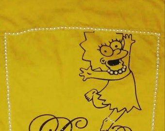 Dance Like Nobody's Watching Lisa Simpson Custom