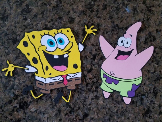Spongebob wall decorations Patrick birthday party decorations