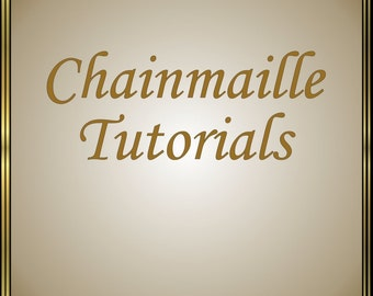 Set of 5 Chainmaille Tutorials