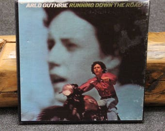 Arlo Guthrie Running Down The Road Reel to Reel Tape 3-3/4 ips Play Tested VG++