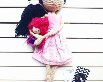 amigurumi doll