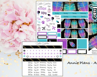 June Montly Kit - Annie Plans - A6 RINGS