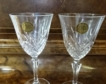 Vintage Wine Glasses Etsy