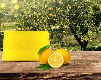 Lemon Vegan Handmade Soap - Soapshire (20gr, 100g, Promotion, Wholesale)
