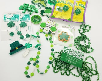 Lot of St. Patrick's Day Themed Jewelry