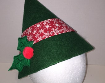 Christmas Cap Holiday Elf hat