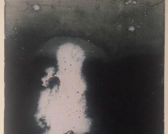 Abstract Art Print 'Experiments 1' 8x10