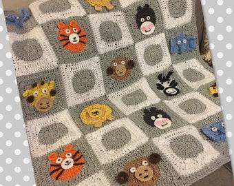 Safari Animal Blanket