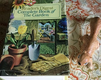 Vintage 1966 Hardcover Readers Digest Complete Book of the Garden
