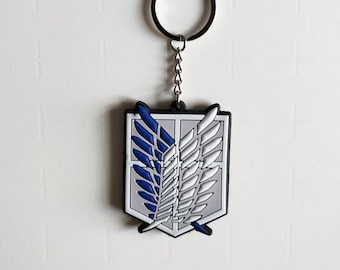 Attack on Titan Survey Corps Keyring Cute Anime Gift Toy Charm