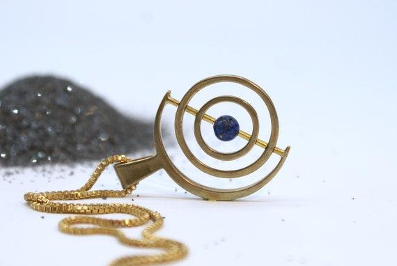 SALE - Gyroscope with Lapis