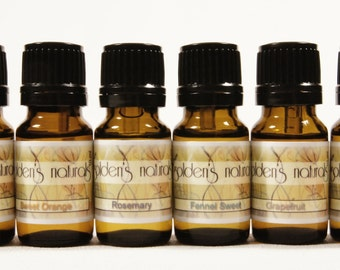 Happy - 10ml - Essential Oil Blend - Bath and Beauty, all natural 100% pure oils and scenting agents