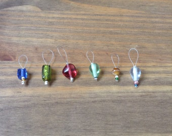 Beaded stitch markers 2