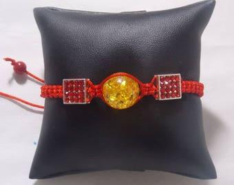 Shamballa red amber
