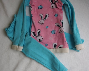 Pullover Sweater Pyjama Pajama Smart Doll Dollfie Dream Puppe 1/3 SD Bunnies Rabbits Cute
