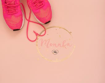 Styled Stock Photo. Workout Fitness Theme. Health & Fitness Blogger. Sport Stock Photography in Flat Lay Style. Blog Graphic Resource