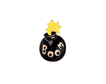 Boom bomb badges