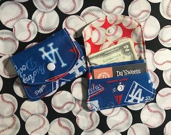 LA Dodger Fabric Wallet