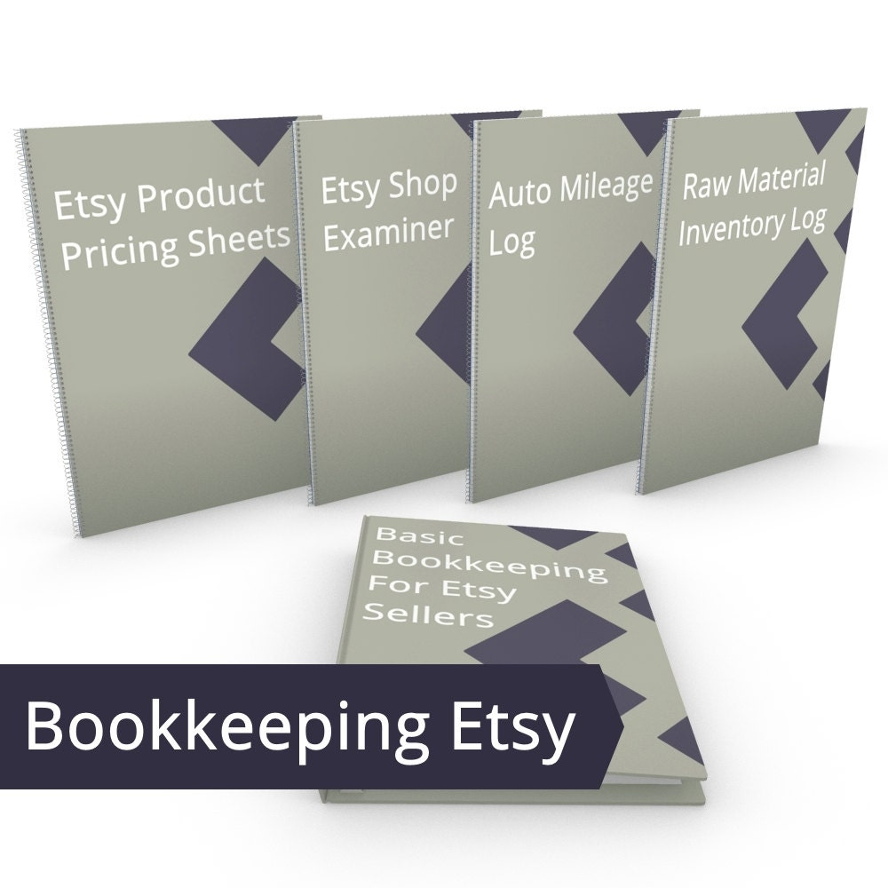 Etsy Bookkeeping Tools Bundle ALL DIY Accounting Resources