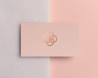 Pink business card etsy business card template rose gold printable business card design pink business card rose flashek Gallery