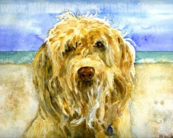 pet portraits | gifts for dog lovers | dog portraits | dog art | watercolor portraits | custom portraits | dog paintings | photo to painting