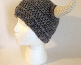 Viking Hat Crochet Pattern