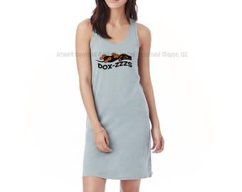 Dox-Zzzs Dachshund Sleep Shirt Night Gown