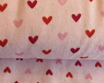Valentine Heart Flannel by Riley Blake