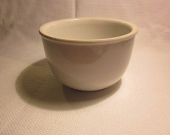 Vintage Hall ironstone bowl, Hall mixing bowl