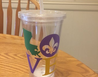 Love Louisiana Tumbler