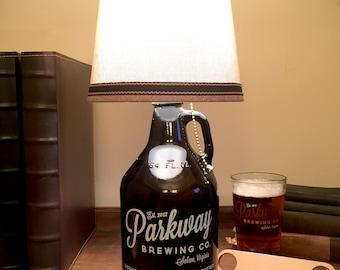 Parkway Brewing Company - Growler Lamp