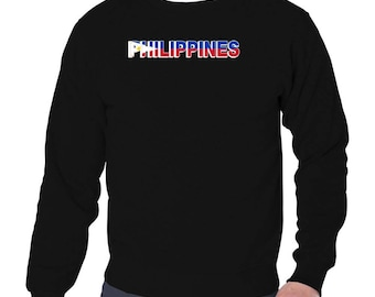 Philippines Country Flag Sweatshirt